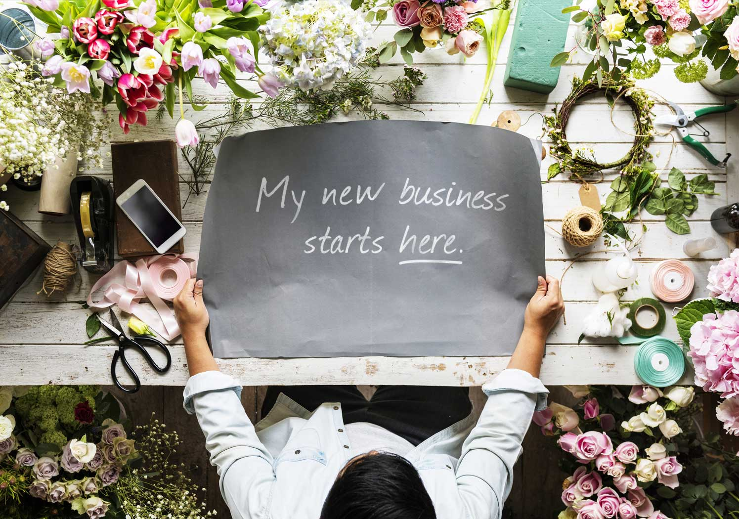 Starting A Business conceptual image