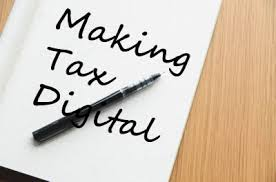 Making Tax Digital written on piece of paper