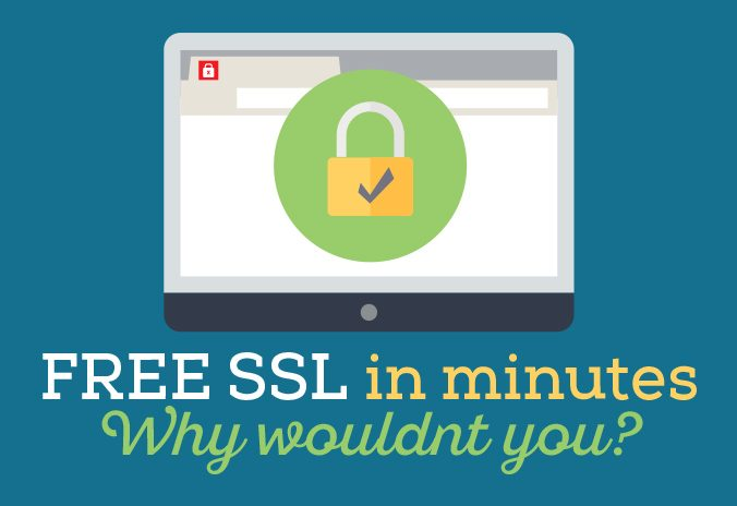 Free SSL certificates, why wouldn't you!